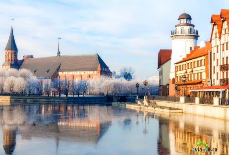 Климат в Калининграде: какая погода зимой 2020-2021?