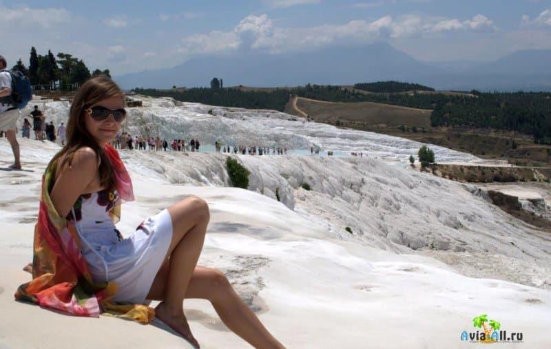 Соляные горы в Турции