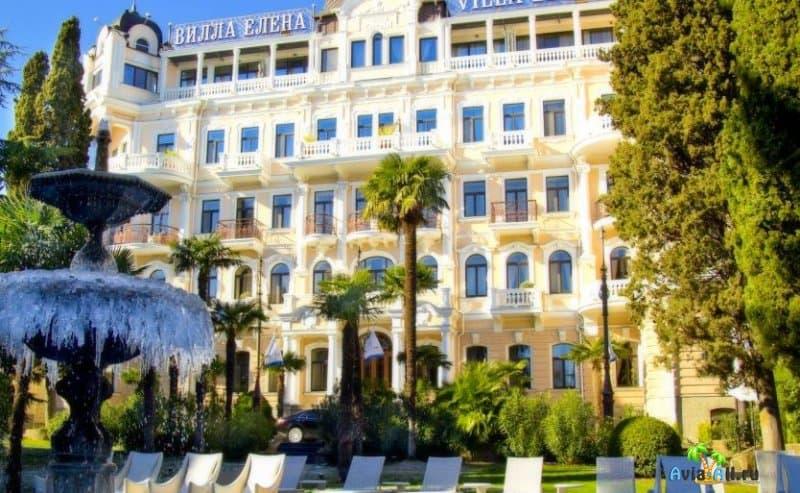 Вилла Елена, Крым. Отель, стоимость номера на ночь, отдых с детьми
