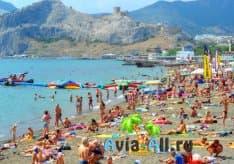 В Крым в августе 2021: какие пляжи Ялты будут открыты? Нужна ли прививка