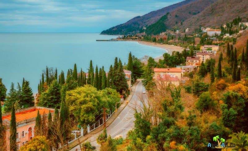 Путешествие в Абхазию в октябре 2021